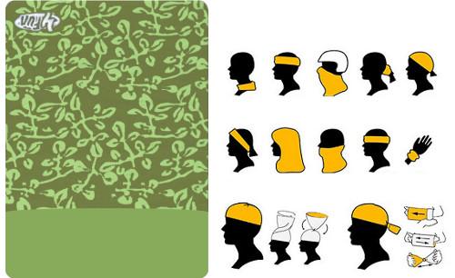 4Fun Multifunkcionālais lakats | Multifunctional scarf