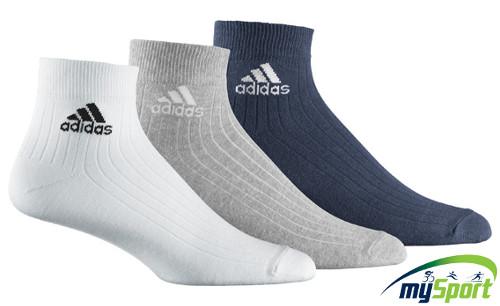 Adidas Ankle Rib T 3 pairs sport socks