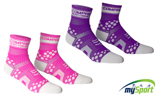 Compressport Fluo Racing Socks V2 Run