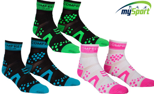 Compressport Pro Racing Socks V2 | Run | High