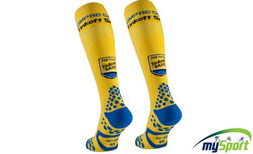 Compressport FS (Full Socks) V2 Tinkoff Saxo