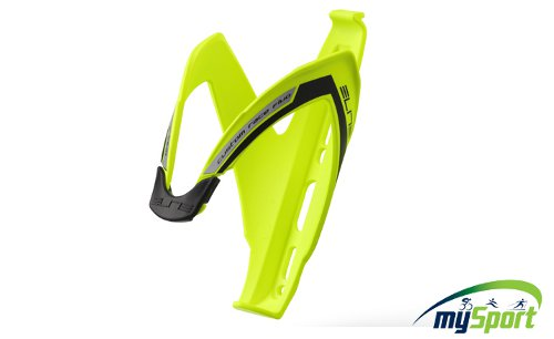 Elite Bottle Cage Yellow