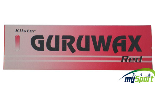 Guruwax Klister Red