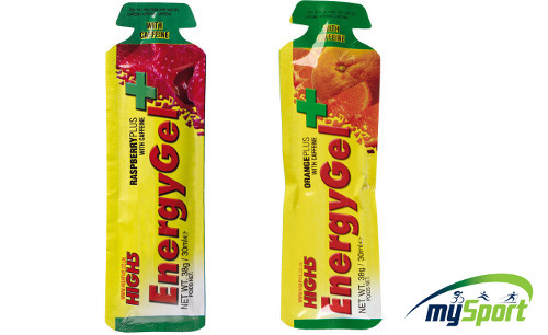 High 5 Energy Gel + | With Caffeine
