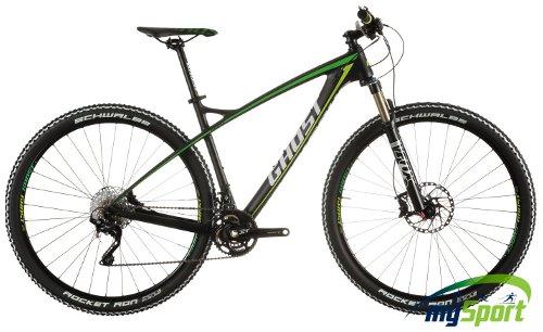 Ghost HTX 5 LC Black-Green, Kalnu velosipēds