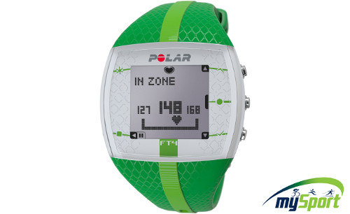 Polar FT4 | Green | Pulsometrs
