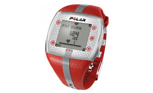 Polar FT7 | Red/Silver | Heart Rate Monitor