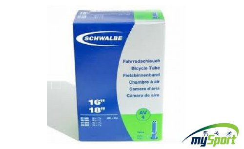 """Schwalbe tube 16"""" AV"""