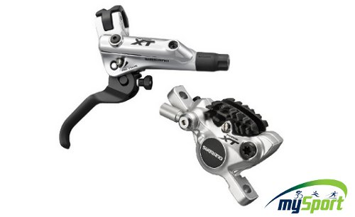 Shimano Xt BL-M785-R Rear Disc Brake Set Silver