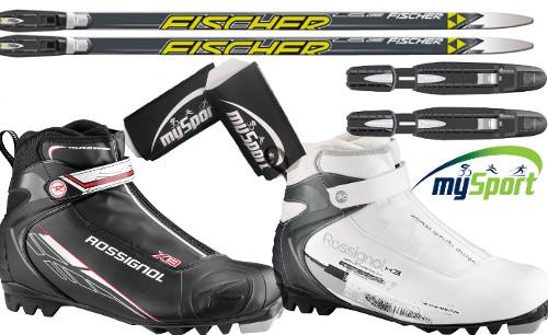 Cross Country Ski Set Combi | Fischer LS Combi