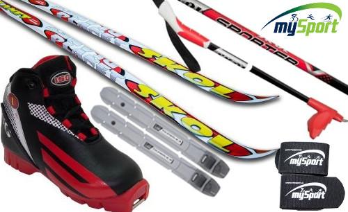 Детский лыжный комплект | Skol