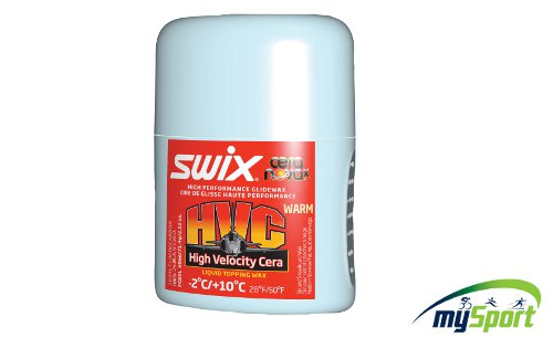 Swix FC80L HVC Liquid Warm Wax 50ml. -2C to 10C