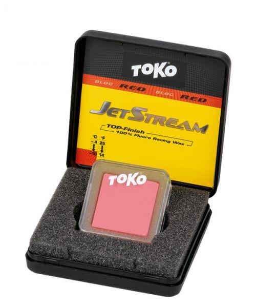Toko JetStream Bloc red, 5509091, pressed powder