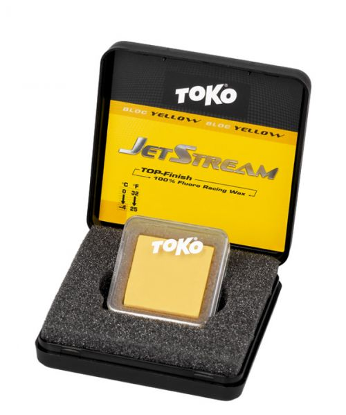Toko JetStream Bloc yellow | Fluorkarbonāta pulveris