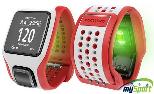 TomTom Runner Cardio (White/Red)