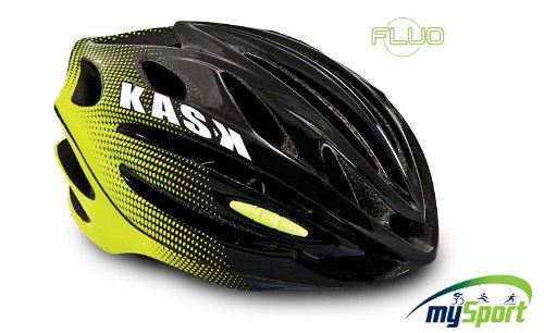 Kask 50 NTA Black/Yellow | Velo Ķivere