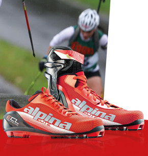 Rollerski boots