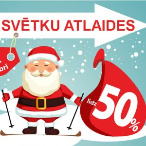Ziemassvētku atlaides no 14.-26. decembrim