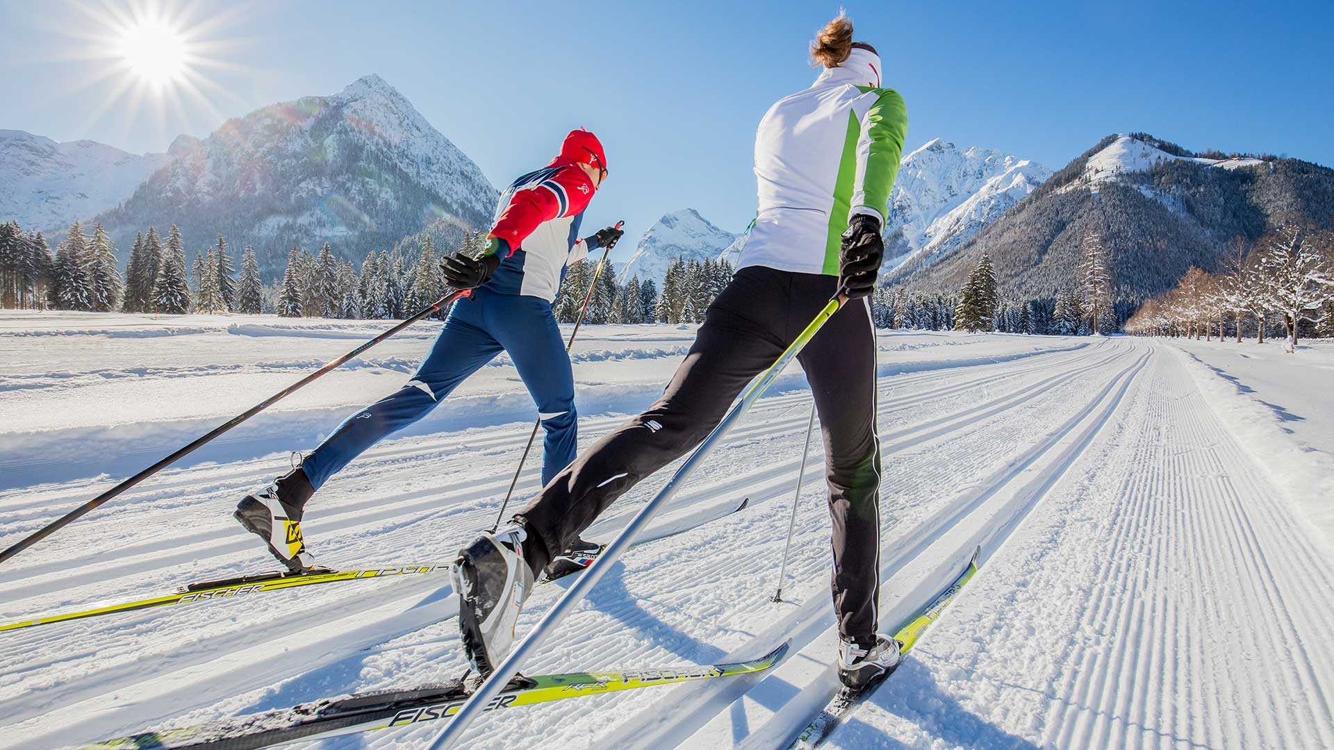 Distanču slēpošanas inventārs