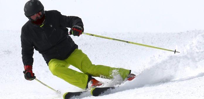 Kalnu slēpošanas bikses un jaka