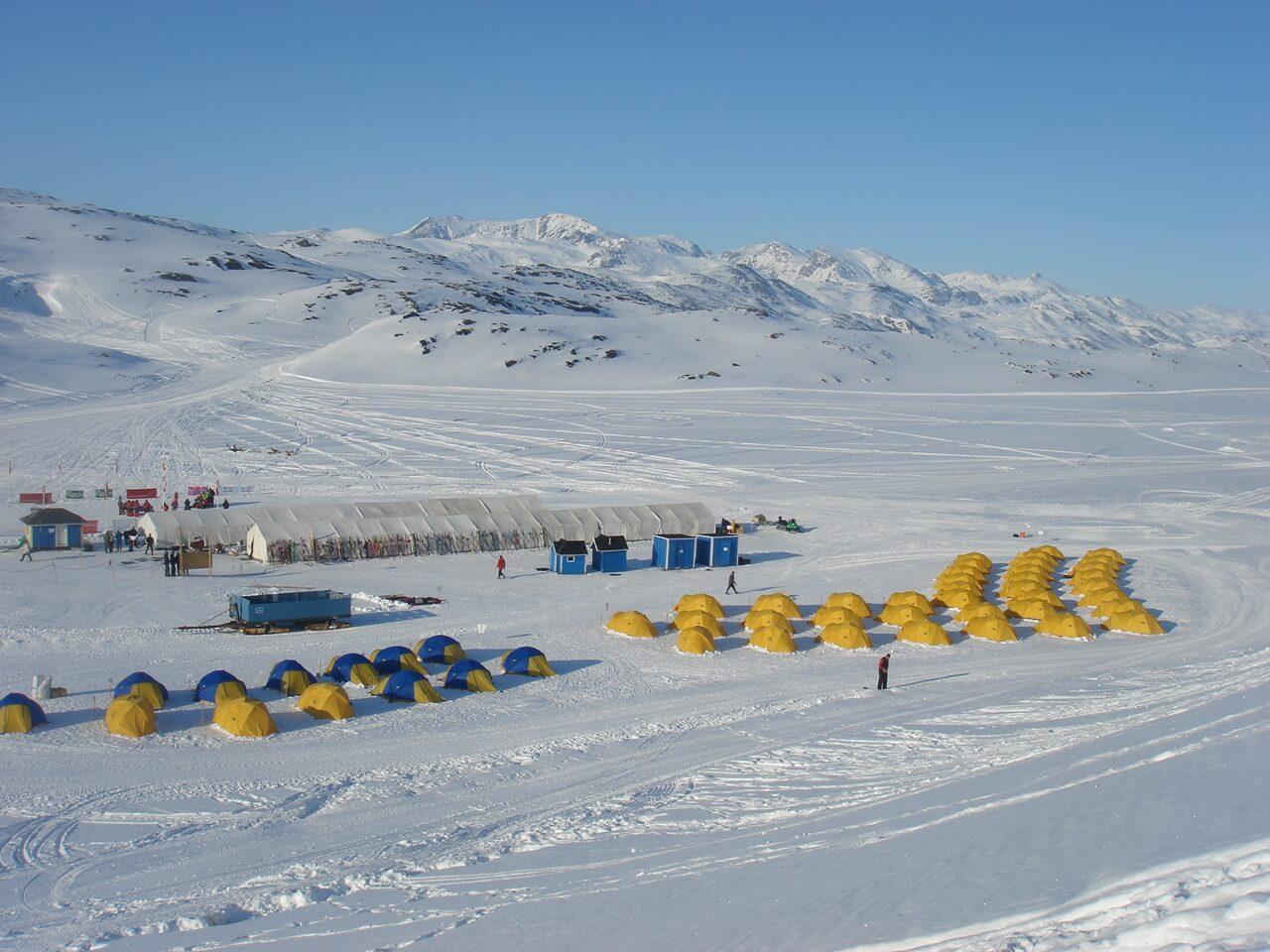 Teltis Grenlandē